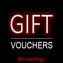 Gift Vouchers at Masdings.com