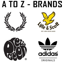 A to Z of Brands at Masdings.com