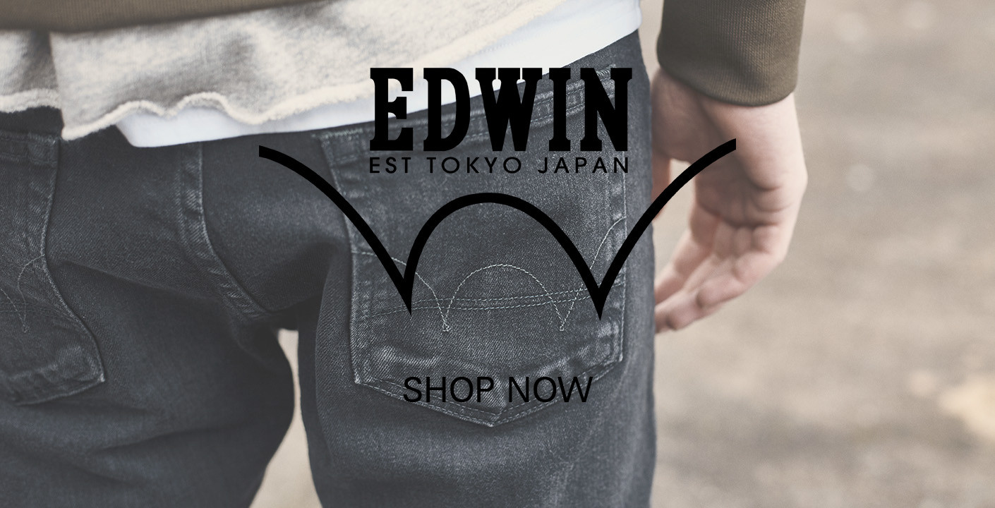 Mens Edwin at oxygenclothing.co.uk
