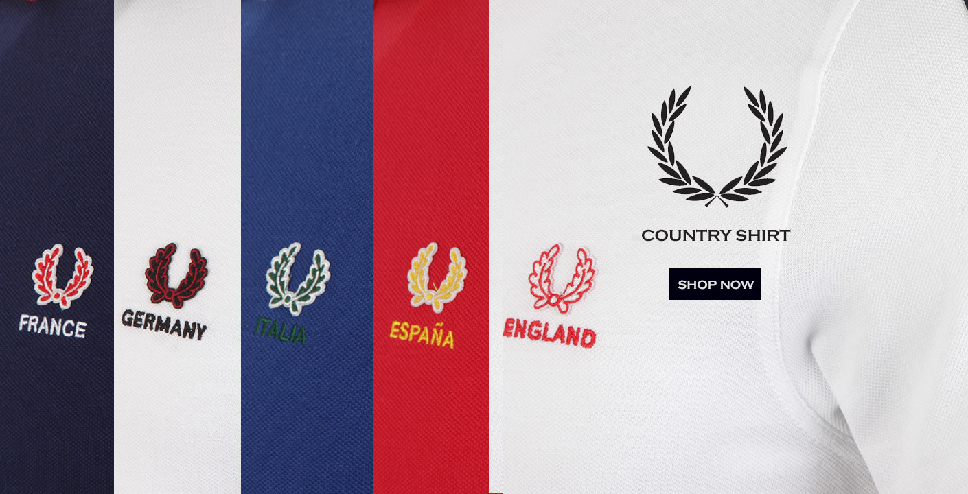 The Fred Perry Country Shirt at masdings.com