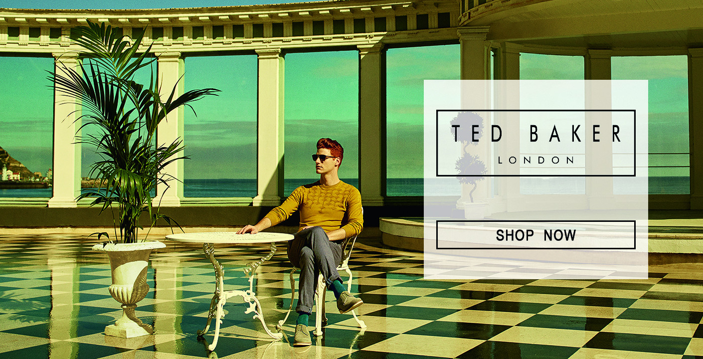 Ted Baker at oxygenclothing.co.uk