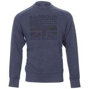 barbour steve mcqueen flags sweater at oxygenclothing.co.uk