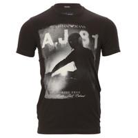Armani Jeans Printed T-Shirt at Oxygenclothing.co.uk