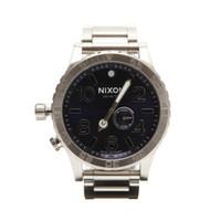 Nixon 51-30 silver at oxygenclothing.co.uk