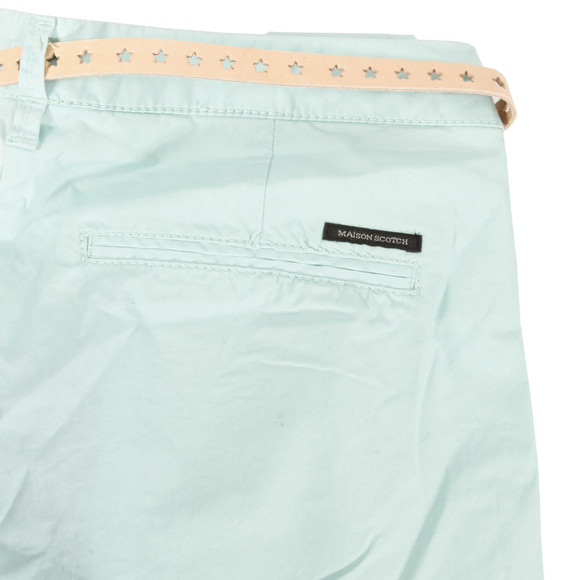Maison Scotch Womens Blue Stretch Pima Quality Chino main image