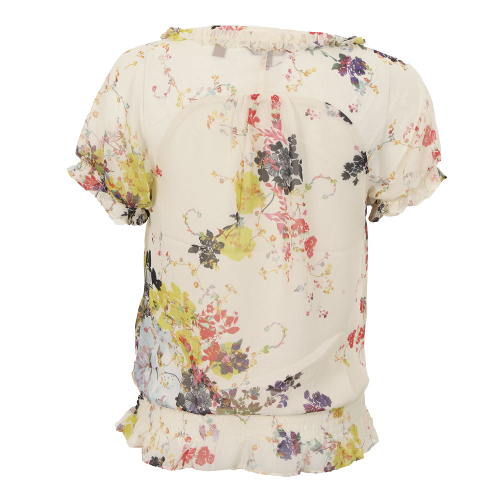 Ted Baker Kamea Summer Bloom Print Frill Top main image