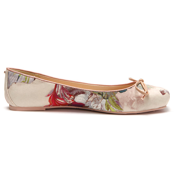 Ted Baker Womens Pink Charee Textile Ballet Pump main image