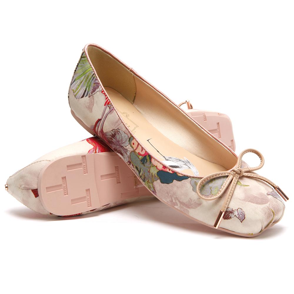 Charee Textile Ballet Pump main image