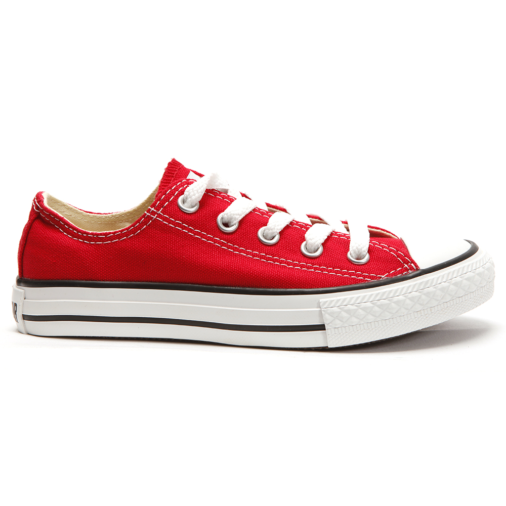 Converse Kids All Star Ox In Red