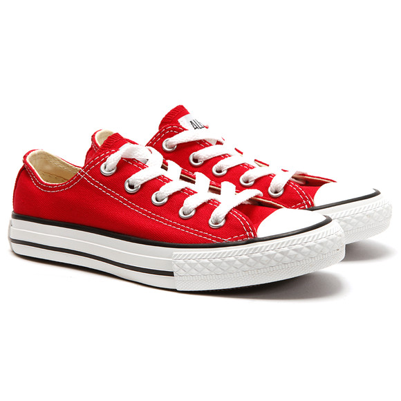 Converse Unisex Red Converse Kids All Star Ox in Red main image