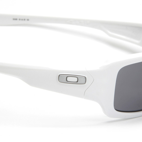 oakley 5 sunglasses  Oakley Fives Squared Polished White Sunglasses