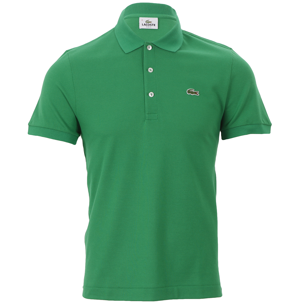 lacoste ph1211 chlorophylle slim fit polo shirt oxygen. Black Bedroom Furniture Sets. Home Design Ideas