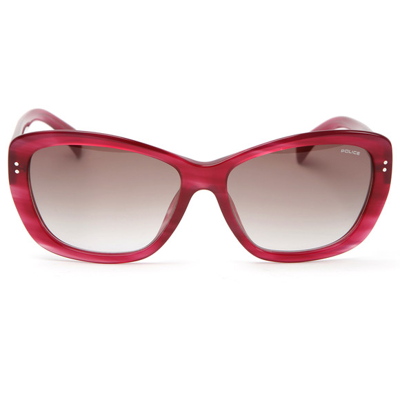Police Sunglasses Womens Red S1676 Sunglasses main image
