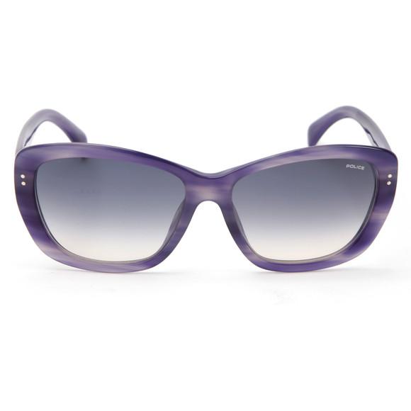 Police Sunglasses Womens Purple S1676 Sunglasses main image