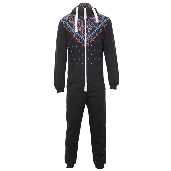 Dirty Roller Unisex Blue Dirty Roller Aztec Onesie main image