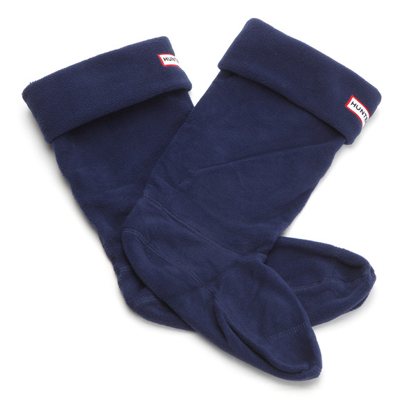 Hunter Unisex Blue Hunter Kids Welly socks main image