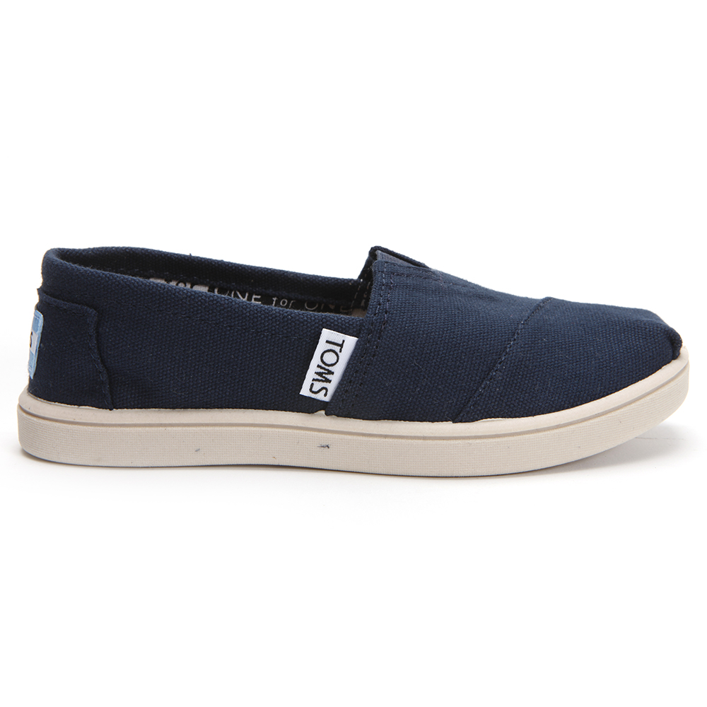 Toms Youth Classic Canvas in Navy main image