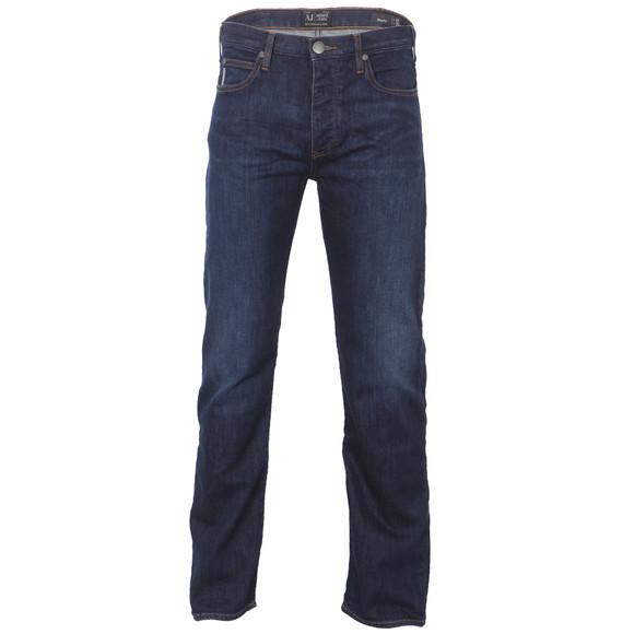 Armani Jeans Mens Blue J21 Regular Fit Jean main image