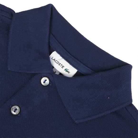Lacoste Boys Blue Lacoste L1812 Plain Polo main image