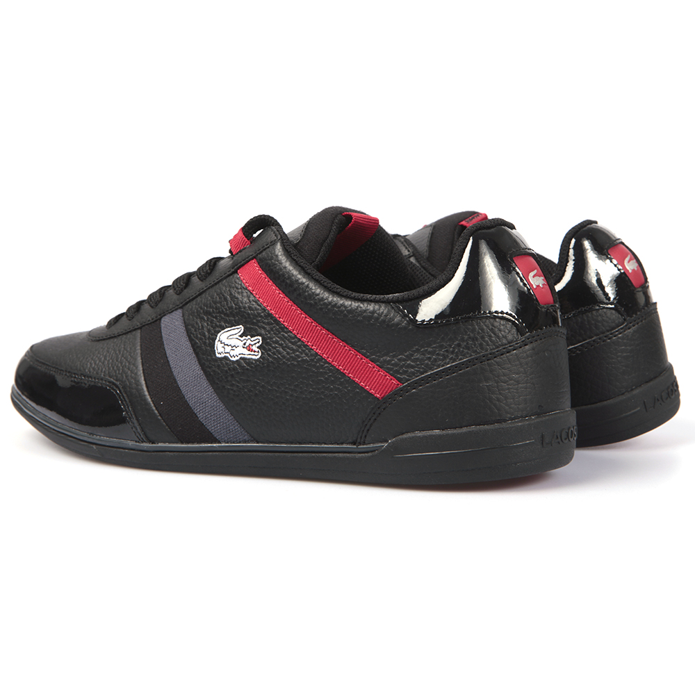 Lacoste Giron SPM Black/Red Trainer main image