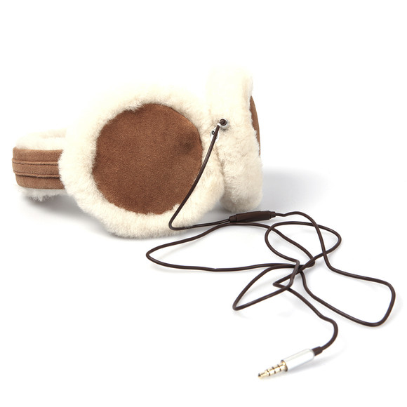 Ugg Womens Brown Ugg Classic Earmuff With Speaker Technology main image