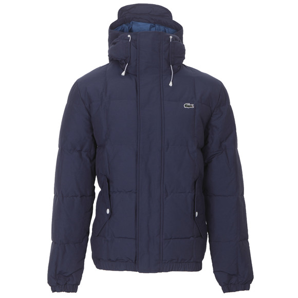 lacoste live lacoste l ve bh3123 navy puffa jacket masdings. Black Bedroom Furniture Sets. Home Design Ideas