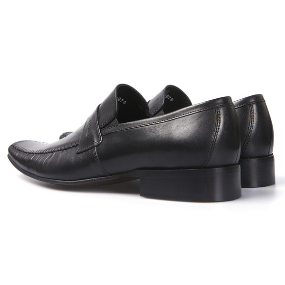 Lacuzzo Mens Black Lacuzzo L1805 Slip On Shoe main image