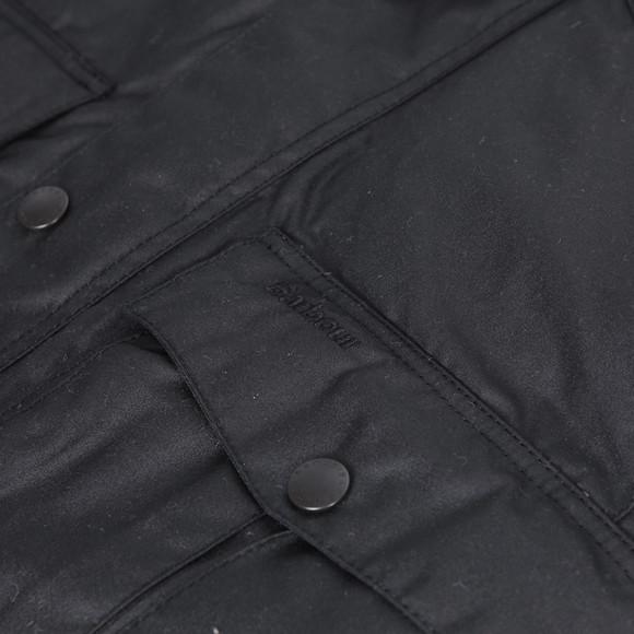 Barbour Lifestyle Mens Black Corbridge Wax Jacket main image