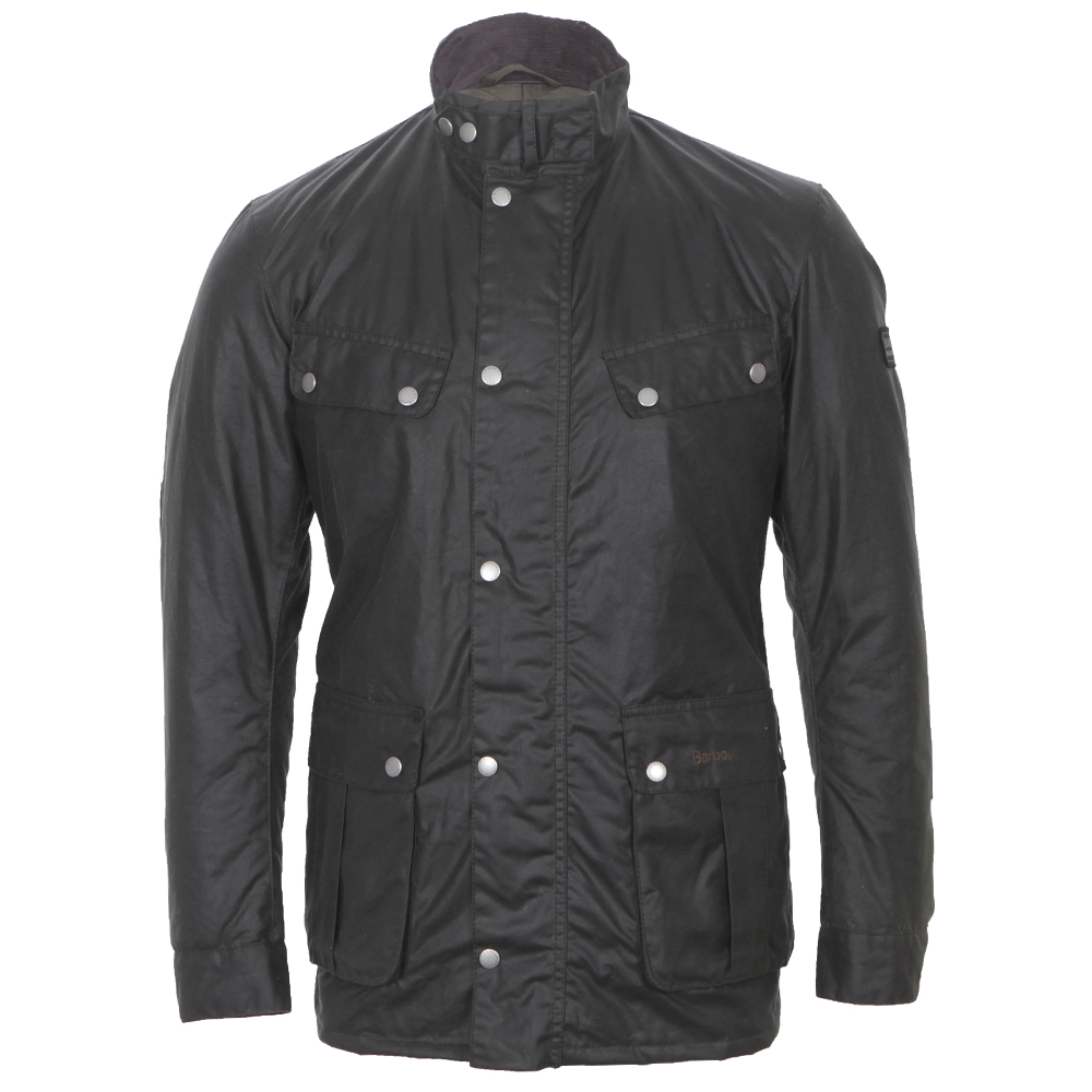 Barbour Duke Sage Wax Jacket