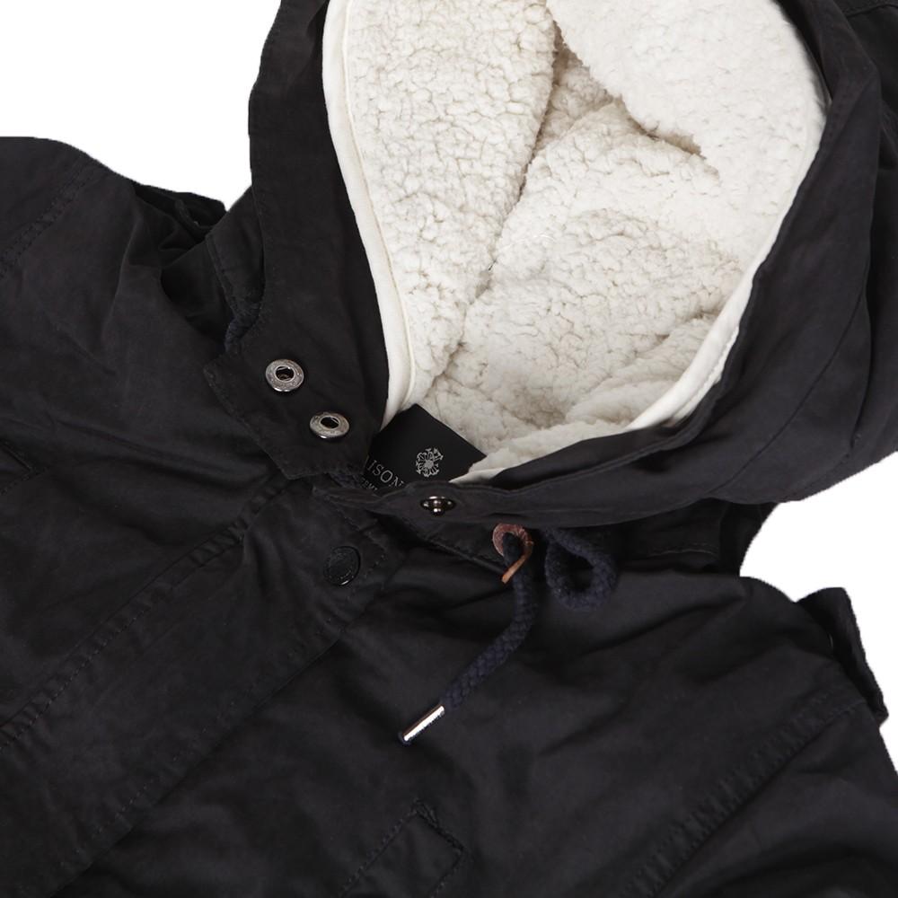 maison scotch black technical parka oxygen clothing. Black Bedroom Furniture Sets. Home Design Ideas