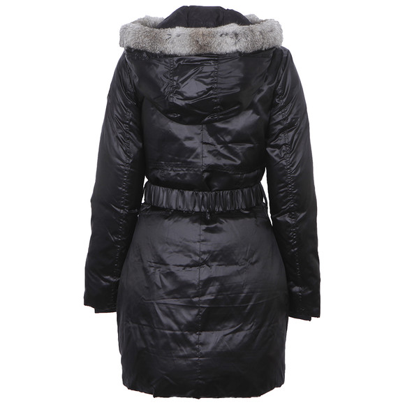 EA7 Emporio Armani Womens Black Mountain Puffy LD Jacket main image