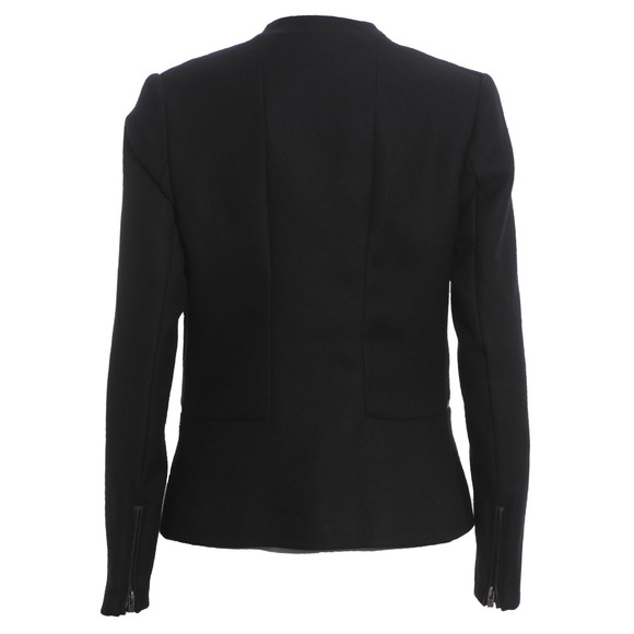 Maison Scotch Womens Black Clean Tailored Blazer main image