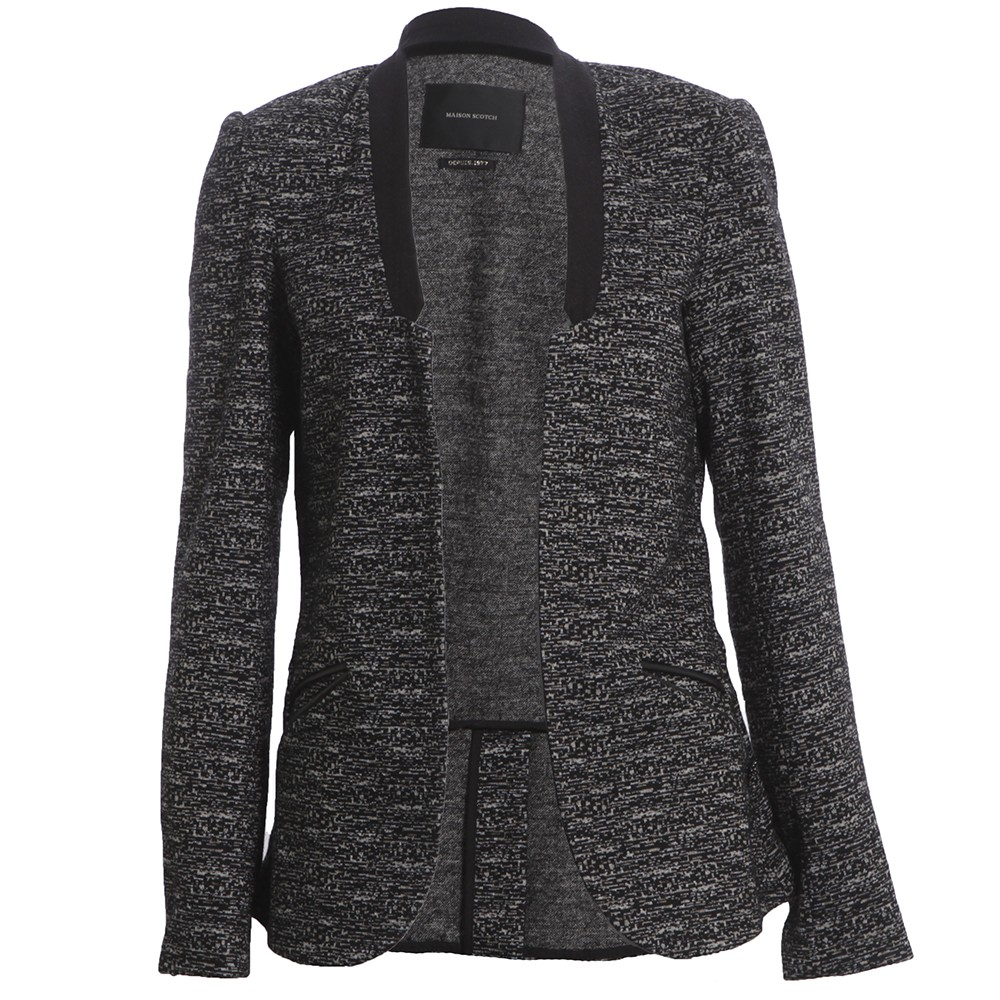 Unlined Stretch Wool Blazer main image