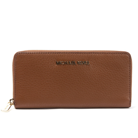 Michael Kors Womens Brown Bedford Continental Zip Purse main image