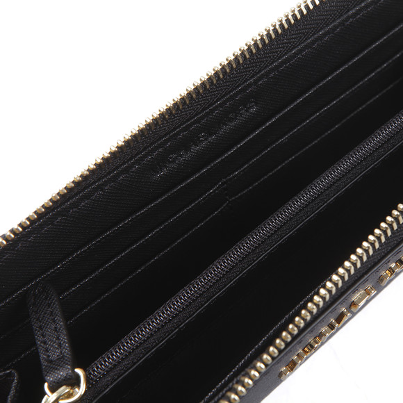 Michael Kors Womens Black Jet Set Zip Purse main image