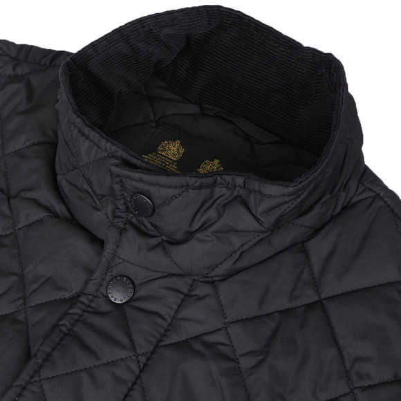 Barbour Lifestyle Mens Black Chelsea Quilt Jacket main image