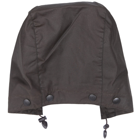 Barbour Lifestyle Mens Green Barbour Classic Sylkoil Hood main image