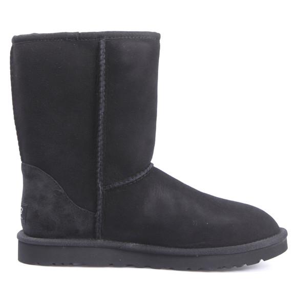 Ugg Womens Black Classic Short Boot main image