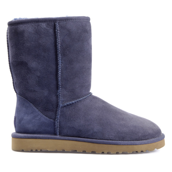 Ugg Womens Blue Classic Short Boot main image