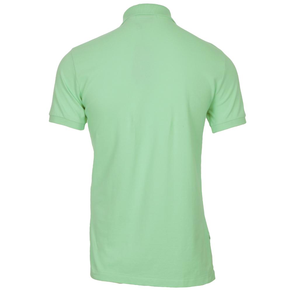 Ralph Lauren Mint Green Custom Fit Polo Shirt Oxygen