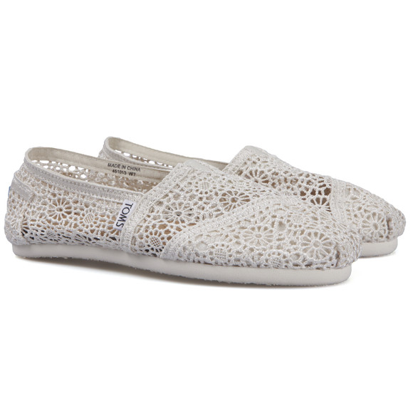 Toms Womens Beige Classic Crochet main image