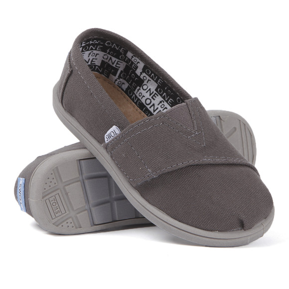 Toms Boys Brown Toms Youth Classic Canvas main image
