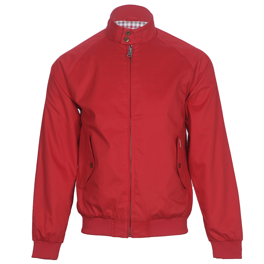 Ben Sherman New Harrington Dawn Red Jacket