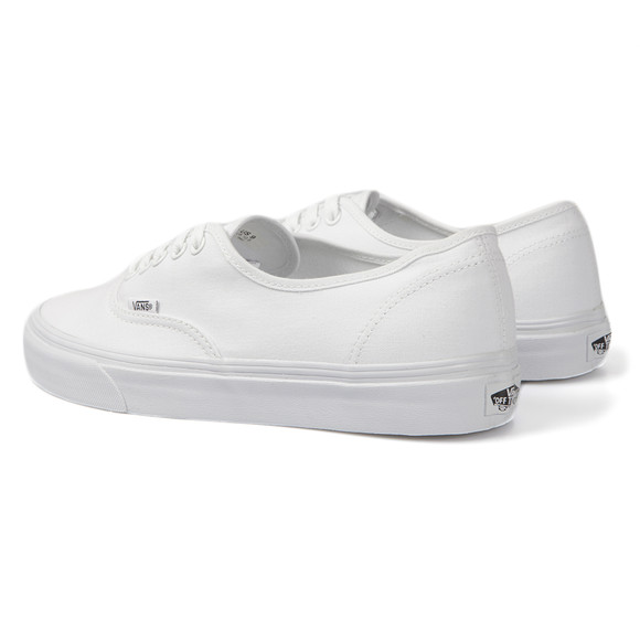 Vans Unisex White Authentic Canvas Trainer main image