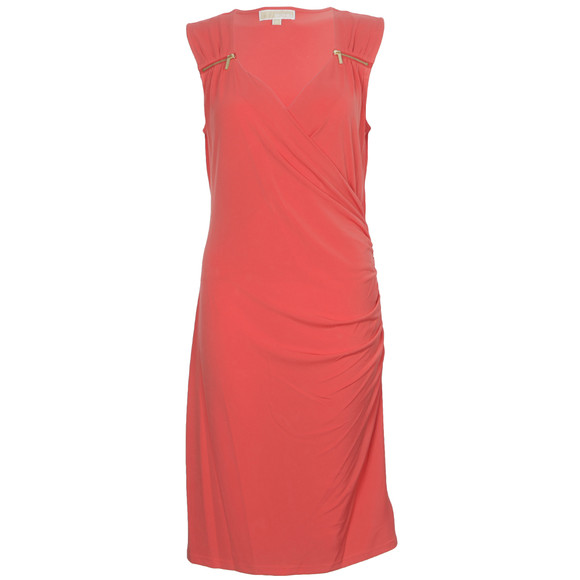 Michael Kors Womens Pink Sweetheart Neck Dress main image