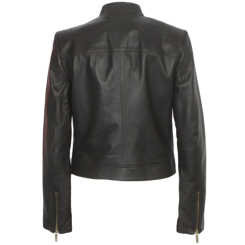 Leather Moto Jacket main image