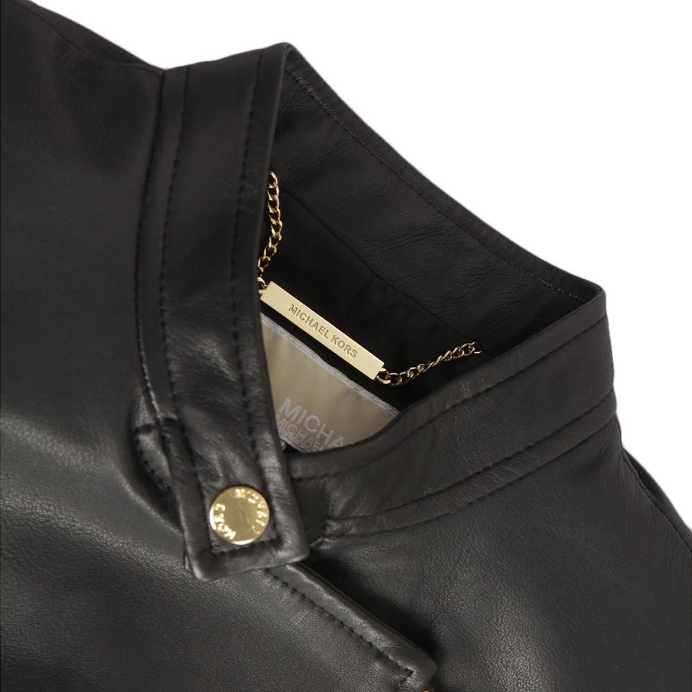 Leather Moto Jacket main image