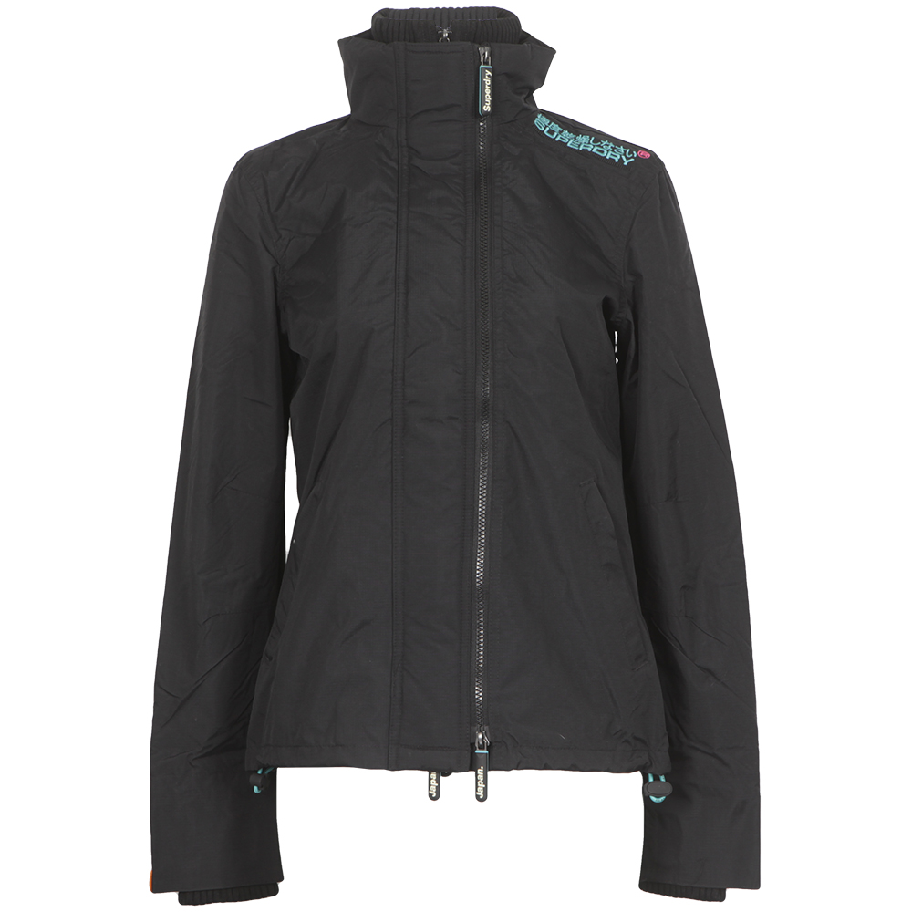Technical Pop Zip Windcheater
