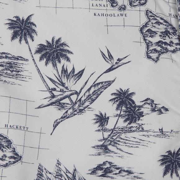 Hackett Boys White Hackett Boys Hawaiian Print Short main image