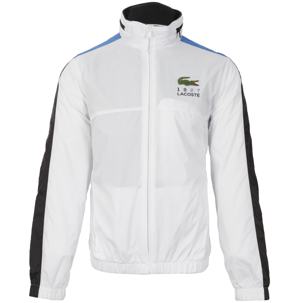 lacoste sport blanc bh7699 jacket masdings. Black Bedroom Furniture Sets. Home Design Ideas